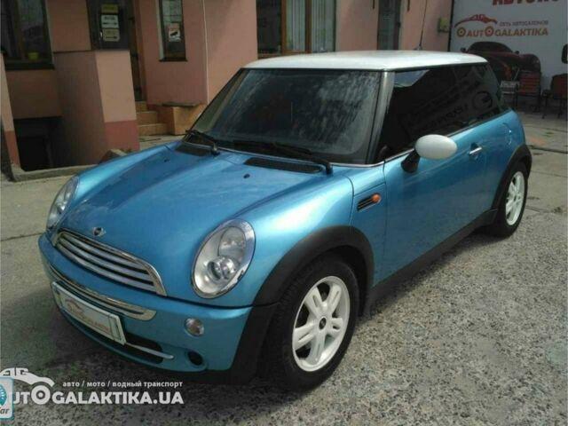 Синій Міні Cooper, об'ємом двигуна 1.6 л та пробігом 93 тис. км за 7999 $, фото 1 на Automoto.ua