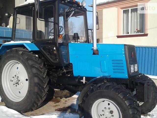 Синий МТЗ 892 Беларус, объемом двигателя 4.75 л и пробегом 3 тыс. км за 16800 $, фото 1 на Automoto.ua