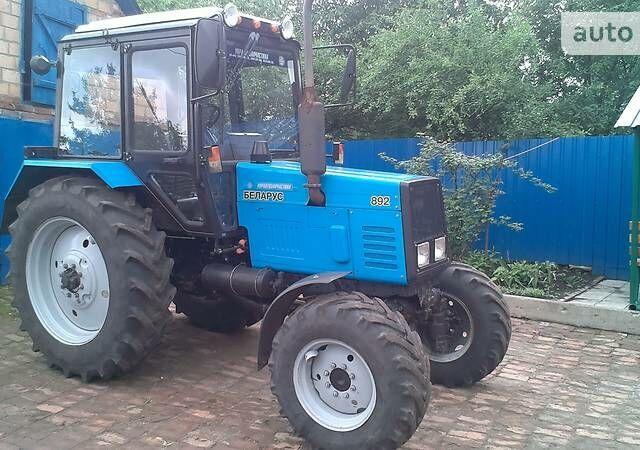 Синий МТЗ 892 Беларус, объемом двигателя 4.7 л и пробегом 1 тыс. км за 14900 $, фото 1 на Automoto.ua
