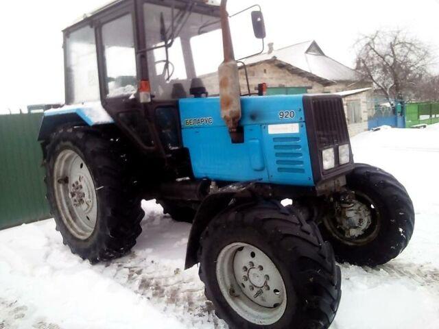 МТЗ 920 Білорус, об'ємом двигуна 4.7 л та пробігом 2 тис. км за 14500 $, фото 1 на Automoto.ua