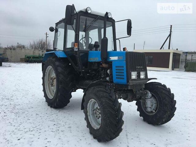 Синій МТЗ 920 Білорус, об'ємом двигуна 0 л та пробігом 4 тис. км за 13500 $, фото 1 на Automoto.ua