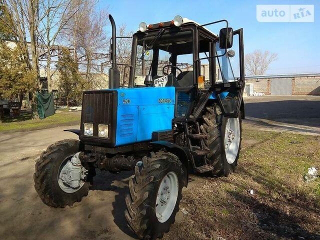 Синий МТЗ 920 Беларус, объемом двигателя 4 л и пробегом 3 тыс. км за 13800 $, фото 1 на Automoto.ua