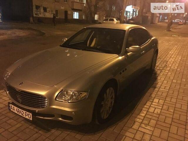 Серебряный Мазерати Кватропорте, объемом двигателя 4.3 л и пробегом 58 тыс. км за 25500 $, фото 1 на Automoto.ua