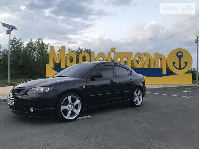 Черный Мазда 3, объемом двигателя 2 л и пробегом 224 тыс. км за 5100 $, фото 1 на Automoto.ua