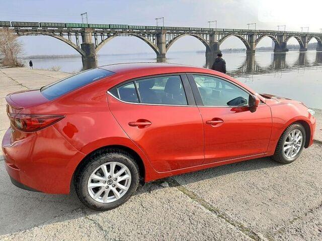 Красный Мазда 3, объемом двигателя 2 л и пробегом 75 тыс. км за 11300 $, фото 1 на Automoto.ua
