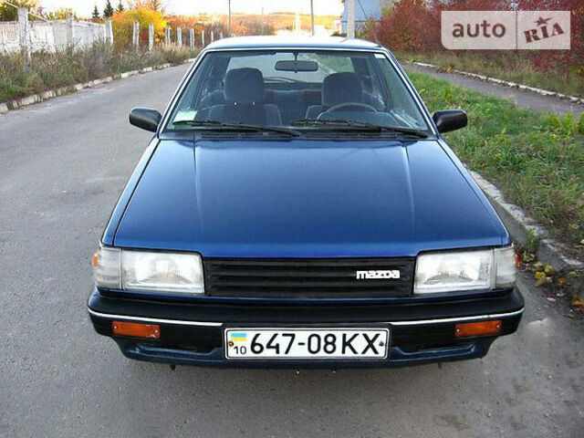 mazda 323 f 1987 г.в. 1.3