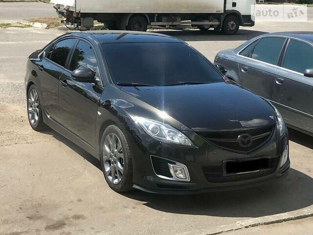 Черный Мазда 6, объемом двигателя 2.5 л и пробегом 160 тыс. км за 10599 $, фото 1 на Automoto.ua