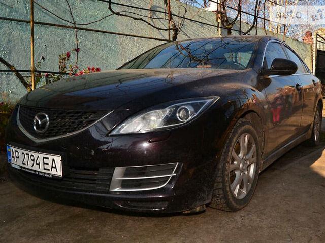 Черный Мазда 6, объемом двигателя 1.8 л и пробегом 150 тыс. км за 12500 $, фото 1 на Automoto.ua