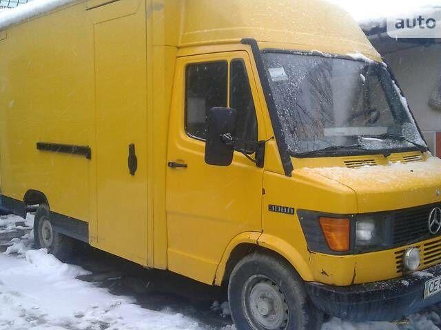 Жовтий Мерседес 308 вант., об'ємом двигуна 2.3 л та пробігом 748 тис. км за 3900 $, фото 1 на Automoto.ua