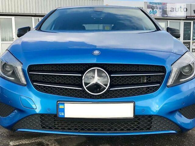 Синій Мерседес А 180, об'ємом двигуна 1.8 л та пробігом 85 тис. км за 21500 $, фото 1 на Automoto.ua