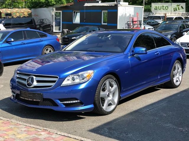 Синій Мерседес ЦЛ 500, об'ємом двигуна 4.6 л та пробігом 23 тис. км за 58000 $, фото 1 на Automoto.ua