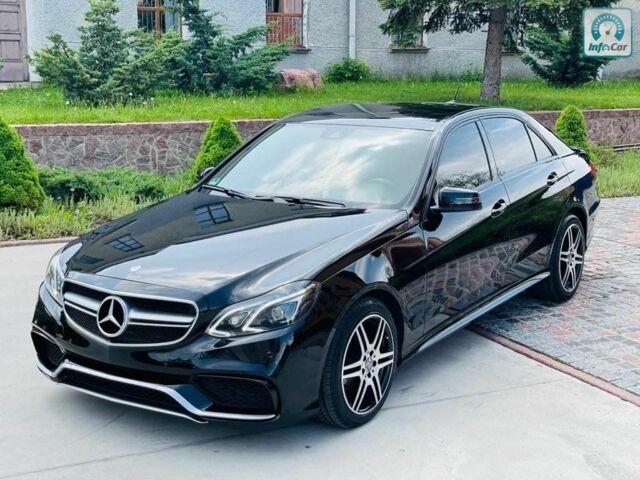 Черный Мерседес Е-Класс, объемом двигателя 2.2 л и пробегом 230 тыс. км за 21500 $, фото 1 на Automoto.ua