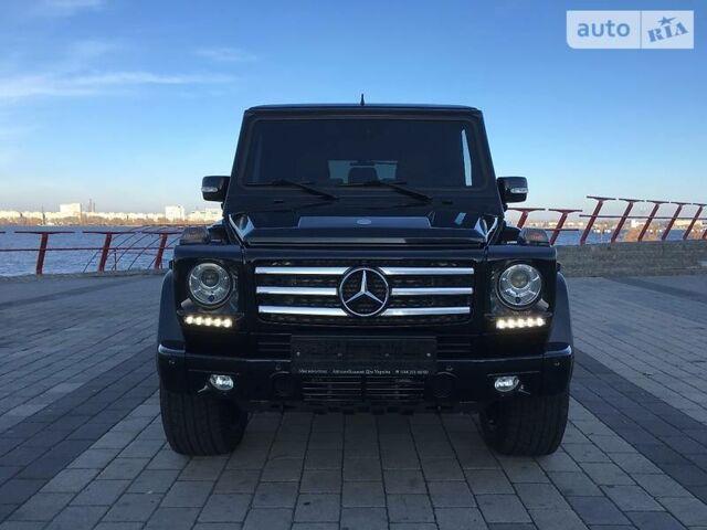 Черный Мерседес Г 350, объемом двигателя 3 л и пробегом 98 тыс. км за 69999 $, фото 1 на Automoto.ua