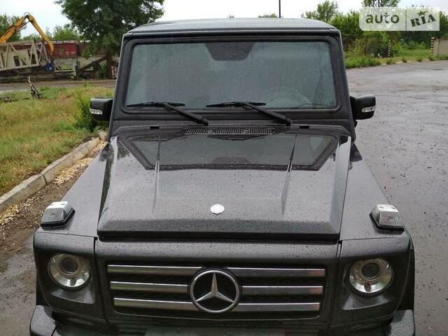Черный Мерседес Г 350, объемом двигателя 3.5 л и пробегом 170 тыс. км за 56000 $, фото 1 на Automoto.ua