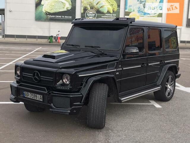 Черный Мерседес Г 500, объемом двигателя 5 л и пробегом 353 тыс. км за 24700 $, фото 1 на Automoto.ua