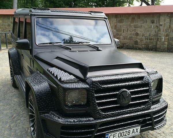 Черный Мерседес Г 500, объемом двигателя 5 л и пробегом 1 тыс. км за 50000 $, фото 1 на Automoto.ua