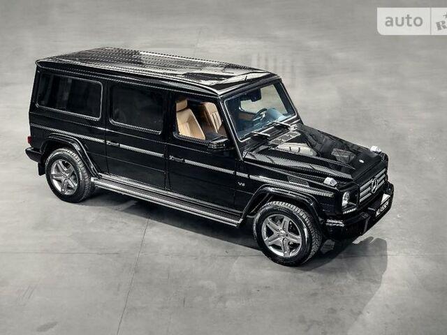 Черный Мерседес Г 500, объемом двигателя 5.5 л и пробегом 2 тыс. км за 325000 $, фото 1 на Automoto.ua