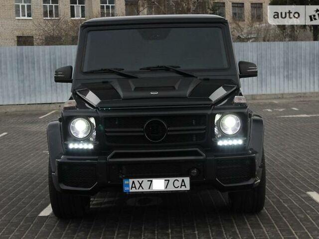 Черный Мерседес Г 55 АМГ, объемом двигателя 5.5 л и пробегом 100 тыс. км за 53700 $, фото 1 на Automoto.ua