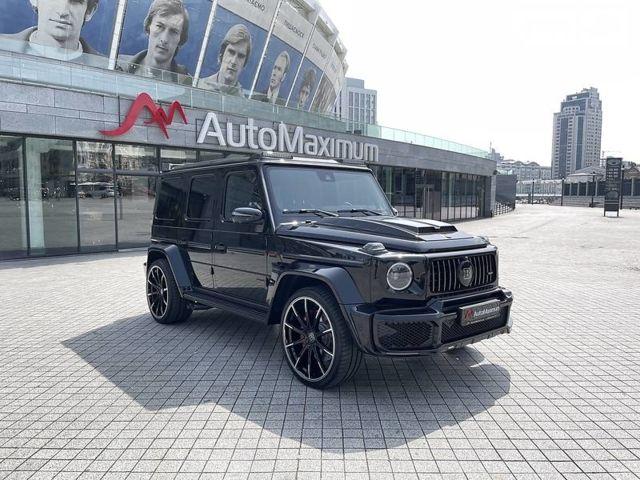 Черный Мерседес Г 63 АМГ, объемом двигателя 4 л и пробегом 2 тыс. км за 443407 $, фото 1 на Automoto.ua