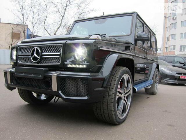 Черный Мерседес Г 65 АМГ, объемом двигателя 6 л и пробегом 1 тыс. км за 355000 $, фото 1 на Automoto.ua