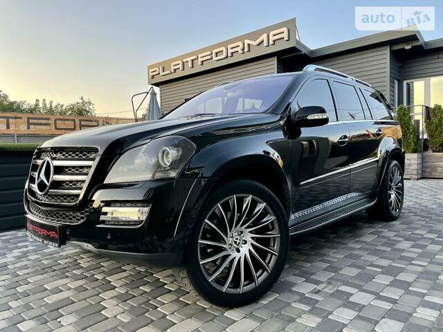 Черный Мерседес ГЛ 550, объемом двигателя 5.5 л и пробегом 255 тыс. км за 17900 $, фото 1 на Automoto.ua