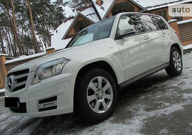 Білий Мерседес ГЛК 250, об'ємом двигуна 2.2 л та пробігом 103 тис. км за 26000 $, фото 1 на Automoto.ua