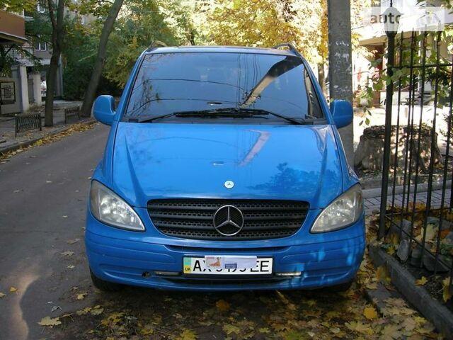 Синий Мерседес МБ пасс., объемом двигателя 2.2 л и пробегом 277 тыс. км за 7300 $, фото 1 на Automoto.ua