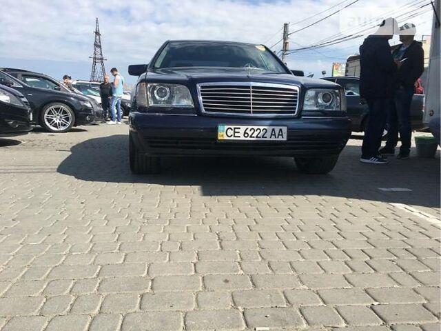 Фиолетовый Мерседес С 140, объемом двигателя 3 л и пробегом 32 тыс. км за 10500 $, фото 1 на Automoto.ua