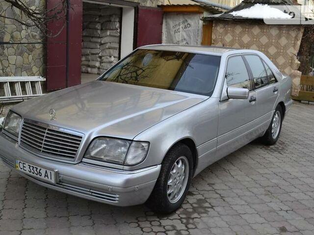 Серый Мерседес С 140, объемом двигателя 3.2 л и пробегом 369 тыс. км за 6999 $, фото 1 на Automoto.ua