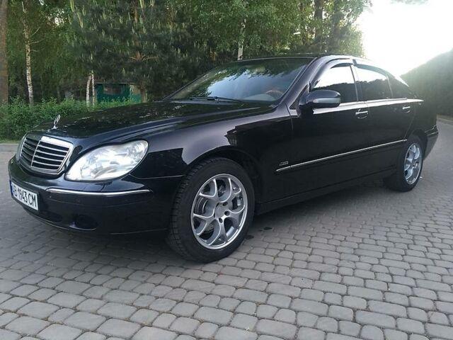 Чорний Мерседес С 430, об'ємом двигуна 4.3 л та пробігом 275 тис. км за 7999 $, фото 1 на Automoto.ua