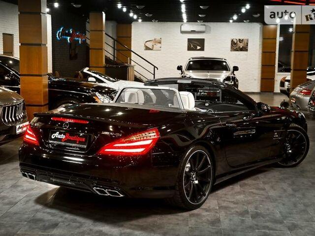 Черный Мерседес СЛ 63 АМГ, объемом двигателя 5.5 л и пробегом 6 тыс. км за 133000 $, фото 1 на Automoto.ua