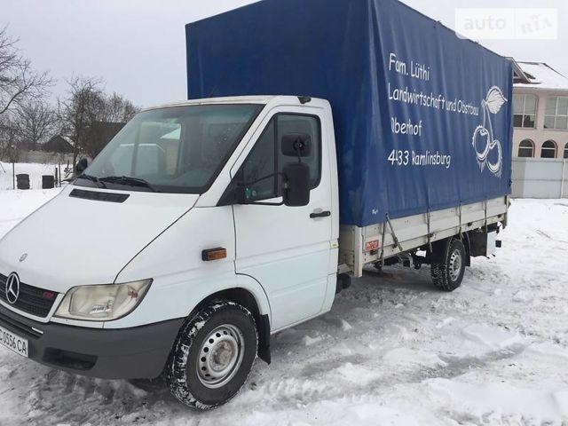 Белый Мерседес Спринтер 316 груз., объемом двигателя 2.7 л и пробегом 520 тыс. км за 10500 $, фото 1 на Automoto.ua
