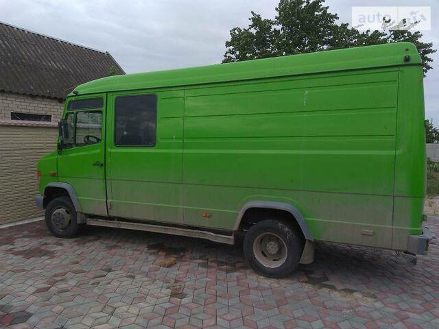 Зеленый Мерседес Варио груз., объемом двигателя 2.87 л и пробегом 304 тыс. км за 12500 $, фото 1 на Automoto.ua