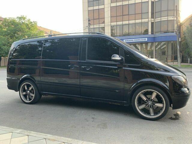 Черный Мерседес Виано, объемом двигателя 2.96 л и пробегом 1 тыс. км за 9500 $, фото 1 на Automoto.ua