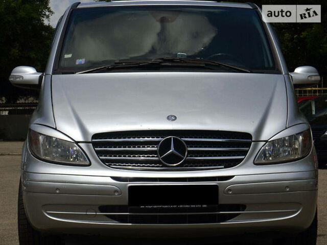 Сірий Мерседес Виано пас., об'ємом двигуна 2.2 л та пробігом 269 тис. км за 29990 $, фото 1 на Automoto.ua
