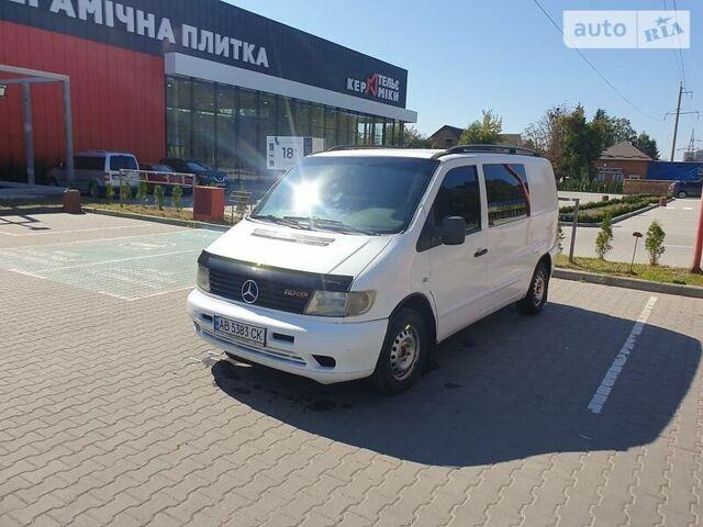 Белый Мерседес Vito 110, объемом двигателя 2.2 л и пробегом 480 тыс. км за 5300 $, фото 1 на Automoto.ua