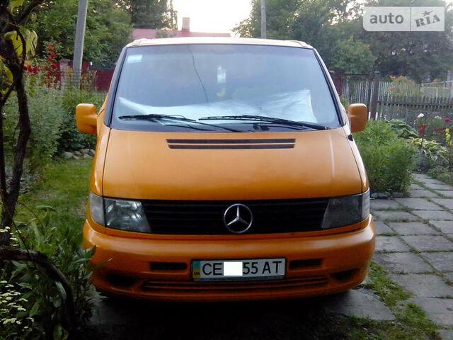 Оранжевый Мерседес Вито пасс., объемом двигателя 2.2 л и пробегом 329 тыс. км за 5777 $, фото 1 на Automoto.ua