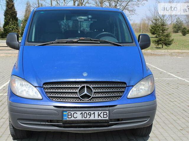 Синій Мерседес Віто, об'ємом двигуна 2.2 л та пробігом 258 тис. км за 7300 $, фото 1 на Automoto.ua