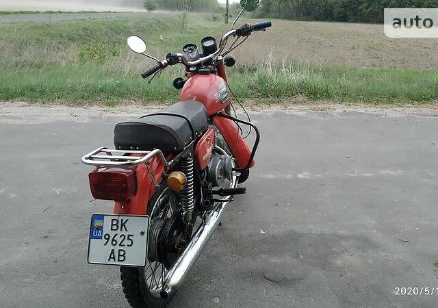 Красный Минск 125, объемом двигателя 0.12 л и пробегом 3 тыс. км за 361 $, фото 1 на Automoto.ua