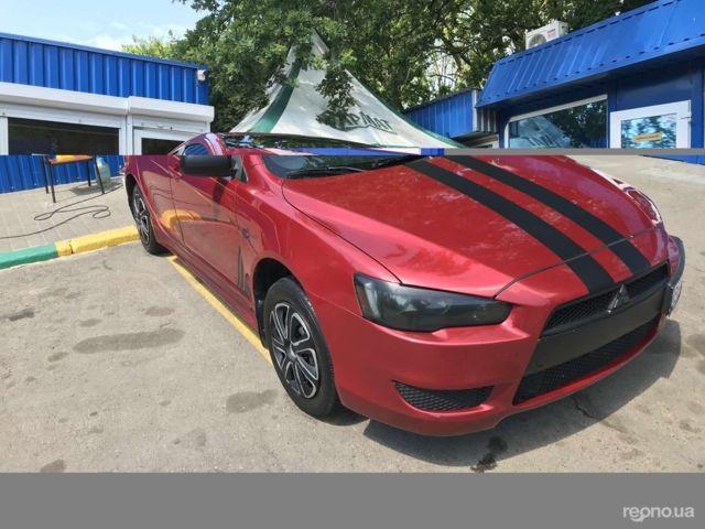 Красный Мицубиси Лансер Х, объемом двигателя 1.5 л и пробегом 232 тыс. км за 7200 $, фото 1 на Automoto.ua