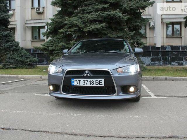 Серый Мицубиси Лансер Х, объемом двигателя 2 л и пробегом 110 тыс. км за 8800 $, фото 1 на Automoto.ua