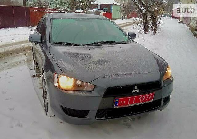 Серый Мицубиси Лансер Х, объемом двигателя 1.5 л и пробегом 78 тыс. км за 9650 $, фото 1 на Automoto.ua
