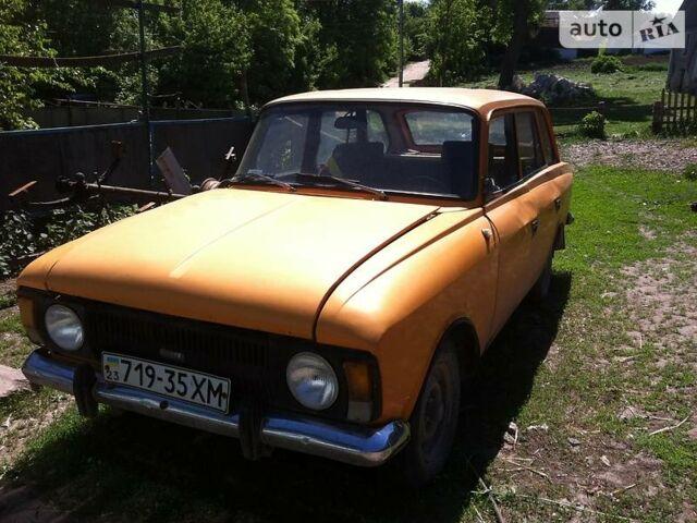 Оранжевый Москвич / АЗЛК 21215, объемом двигателя 1 л и пробегом 1 тыс. км за 456 $, фото 1 на Automoto.ua
