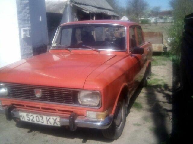 Червоний Москвич / АЗЛК 2140, об'ємом двигуна 1.5 л та пробігом 87 тис. км за 440 $, фото 1 на Automoto.ua