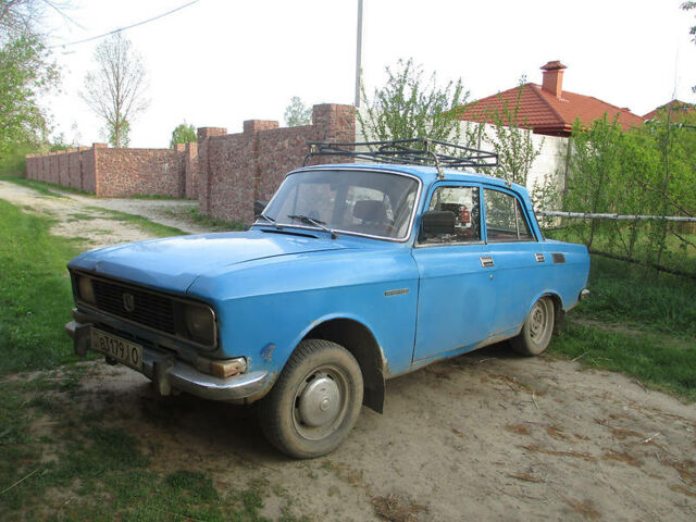 Синій Москвич / АЗЛК 2140, об'ємом двигуна 1.5 л та пробігом 123 тис. км за 650 $, фото 1 на Automoto.ua
