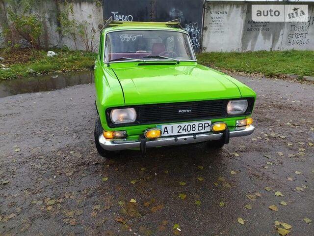 Зелений Москвич / АЗЛК 2140, об'ємом двигуна 0 л та пробігом 134 тис. км за 500 $, фото 1 на Automoto.ua