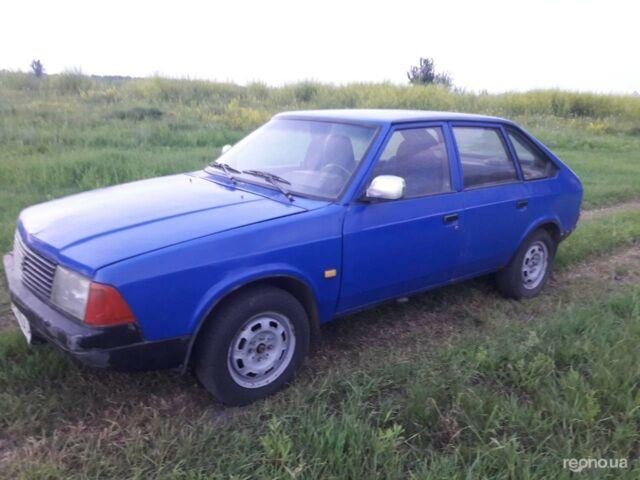 Синий Москвич / АЗЛК 2141, объемом двигателя 1.6 л и пробегом 150 тыс. км за 776 $, фото 1 на Automoto.ua
