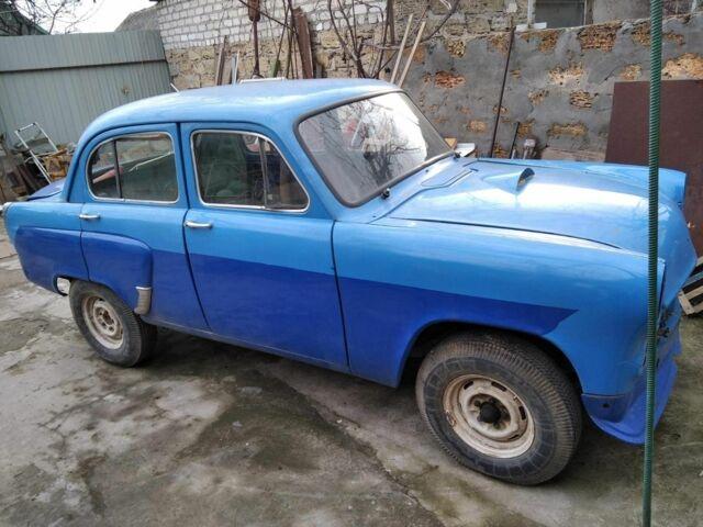 Голубой Москвич / АЗЛК 407, объемом двигателя 1.5 л и пробегом 100 тыс. км за 367 $, фото 1 на Automoto.ua