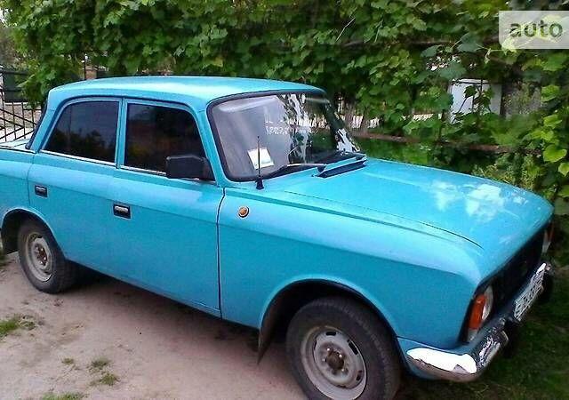 Голубой Москвич / АЗЛК 412, объемом двигателя 1.5 л и пробегом 175 тыс. км за 600 $, фото 1 на Automoto.ua