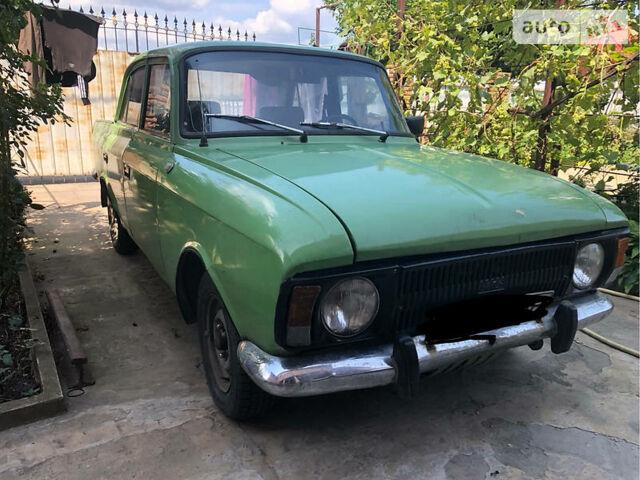 Зеленый Москвич / АЗЛК 412, объемом двигателя 1.5 л и пробегом 72 тыс. км за 440 $, фото 1 на Automoto.ua